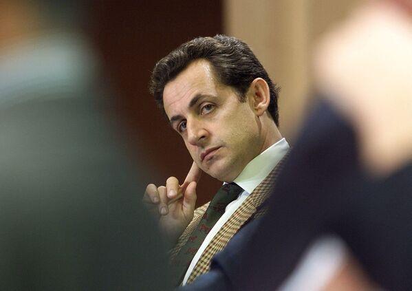 Генеральный секретарь РНП Николя Саркози - Sputnik Таджикистан