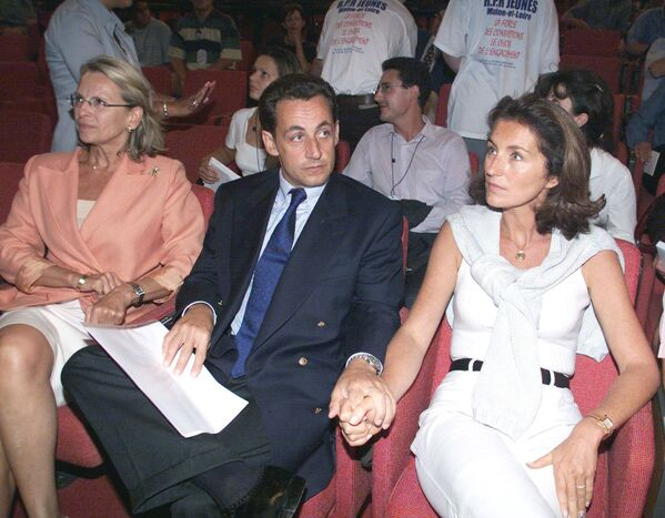 Николя Саркози и его жена Сесилия - Sputnik Таджикистан