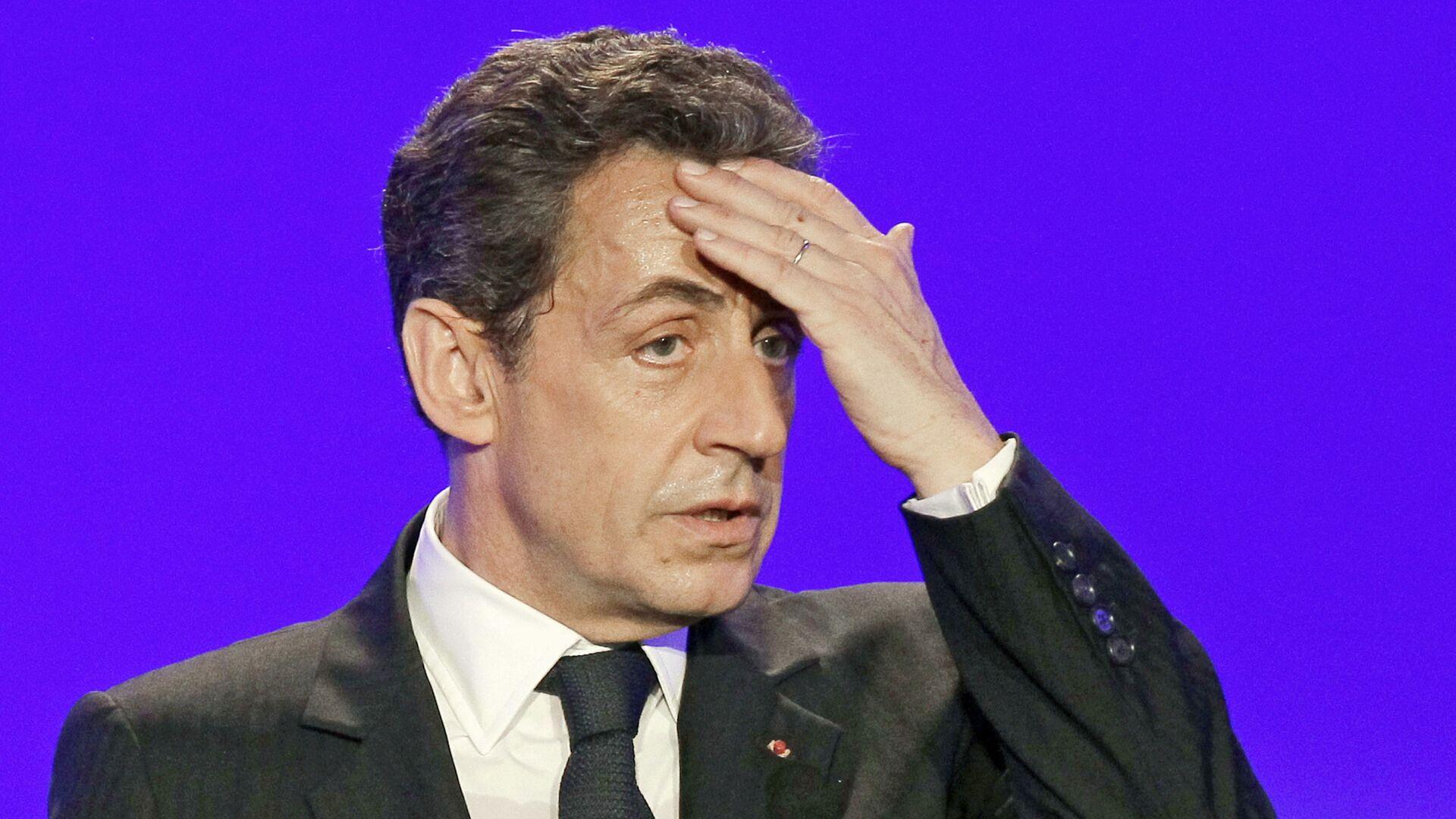 Бывший президент Франции Николя Саркози - Sputnik Тоҷикистон, 1920, 30.09.2021