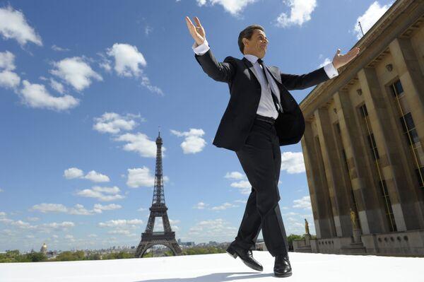 Николя Саркози во время президентской гонки в 2012 году - Sputnik Таджикистан