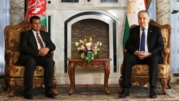 Глава МИД РТ встретился с преседателем парламент Афганистан Миррахмон Рахмони - Sputnik Тоҷикистон