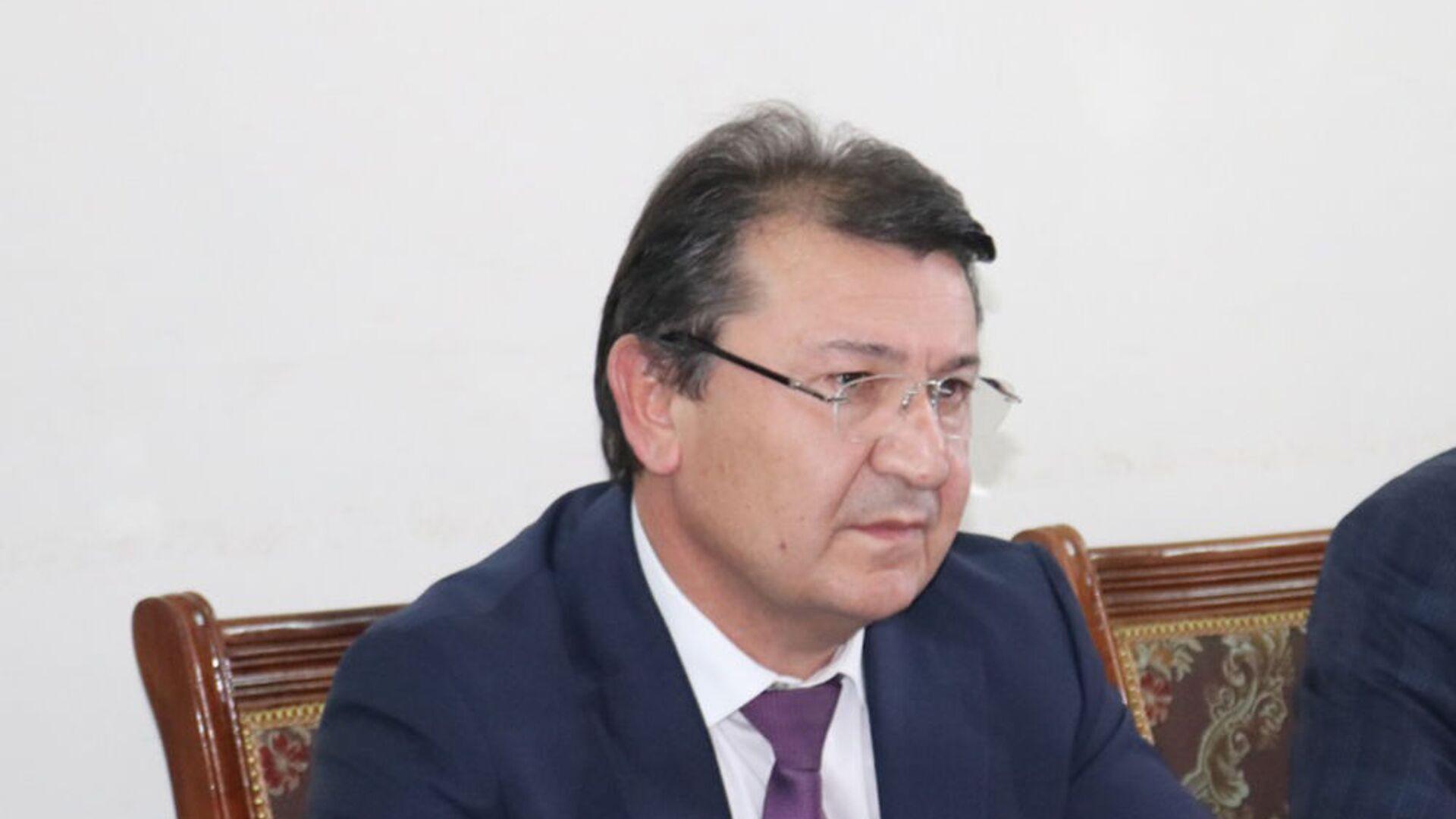 Джамолиддин Абдуллозода министр здравоохранения РТ - Sputnik Таджикистан, 1920, 27.07.2021
