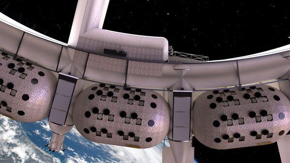 Закончить строительство первого космического отеля компания планирует уже в 2027 году - Sputnik Таджикистан