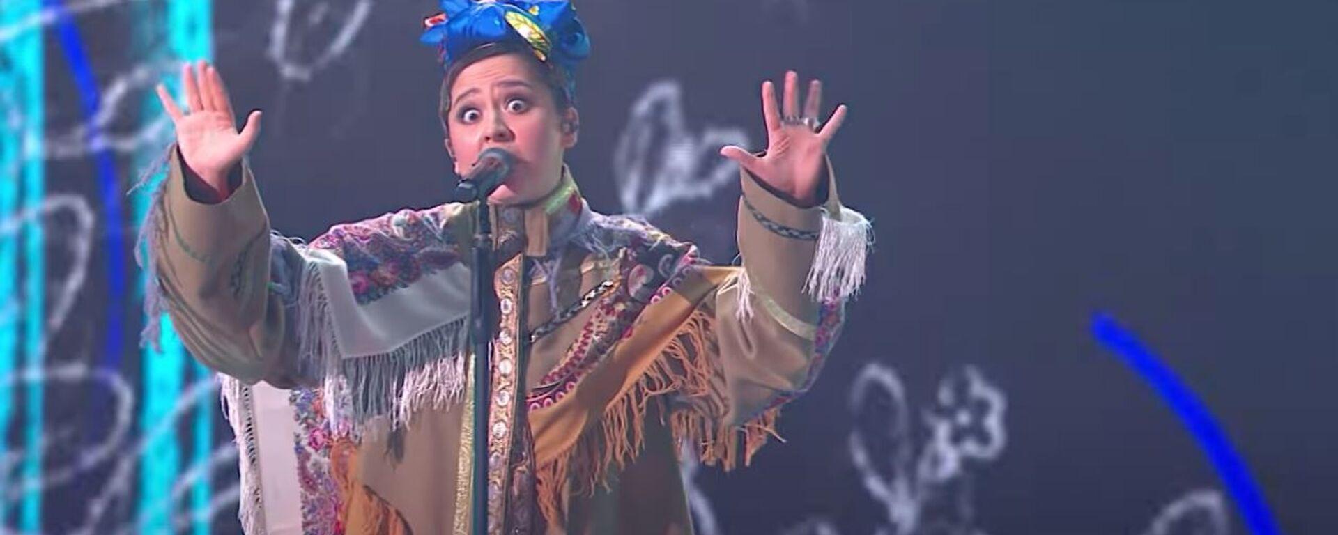 Кадр из выступления Манижи на Евровидении 2021 - Sputnik Таджикистан, 1920, 23.03.2021