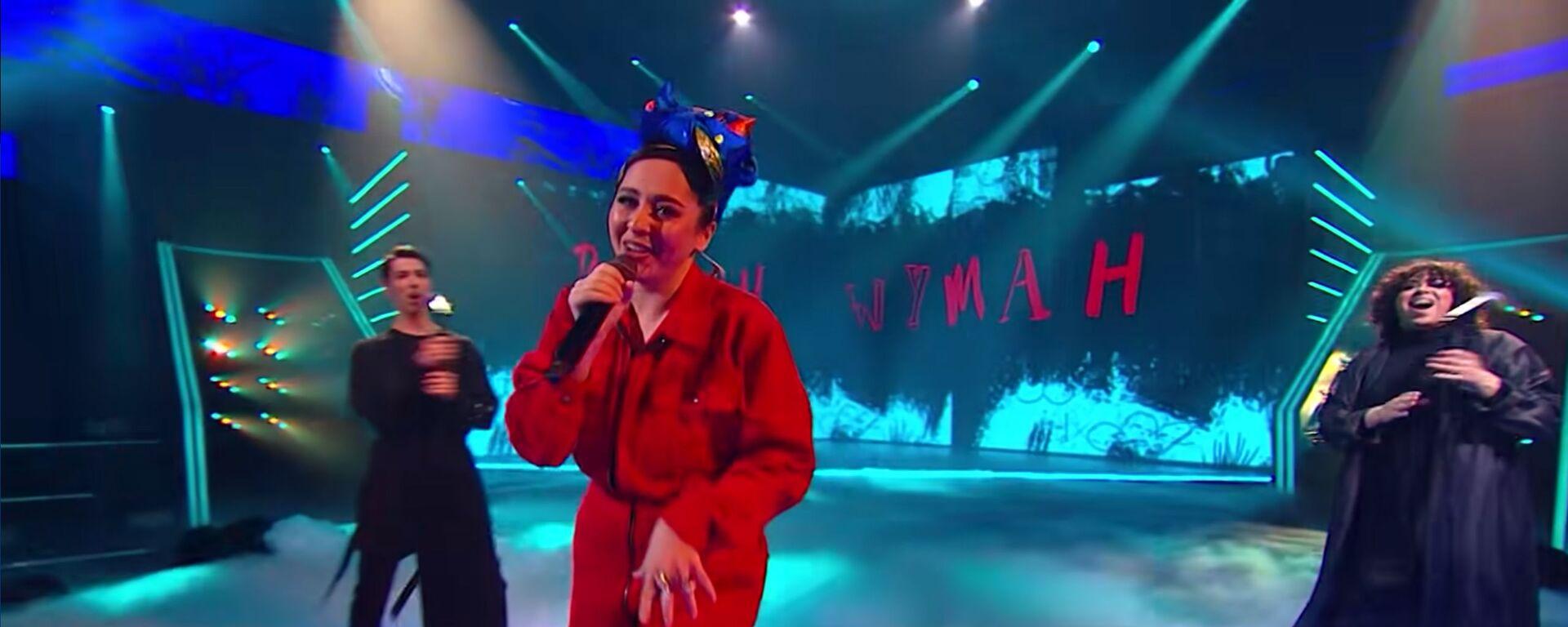 Певица Manizha - Sputnik Таджикистан, 1920, 11.03.2021