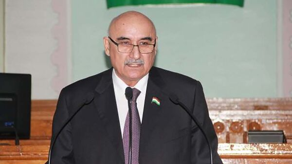 Глава парламента Республики Таджикистан Махмадтуар Зокирзода - Sputnik Тоҷикистон