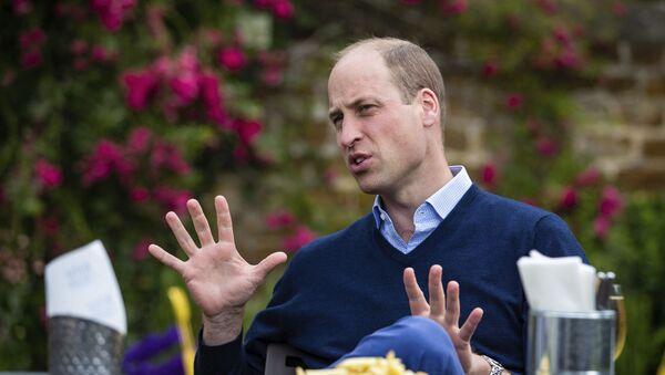 Британский принц Уильям - Sputnik Таджикистан