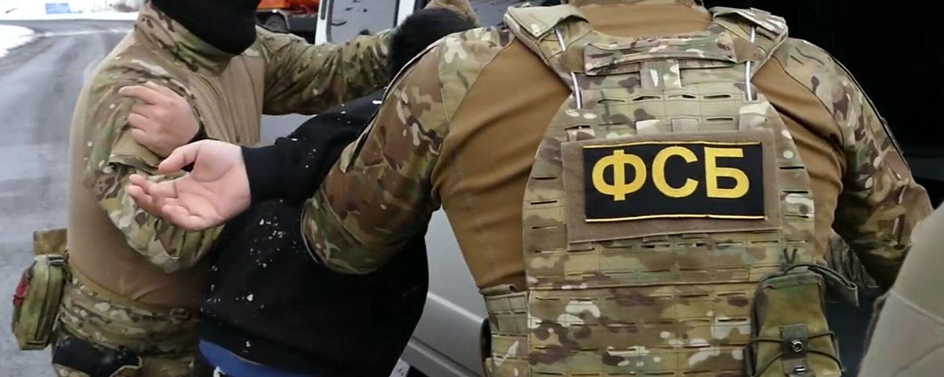 Сотрудники ФСБ России - Sputnik Таджикистан, 1920, 15.09.2021