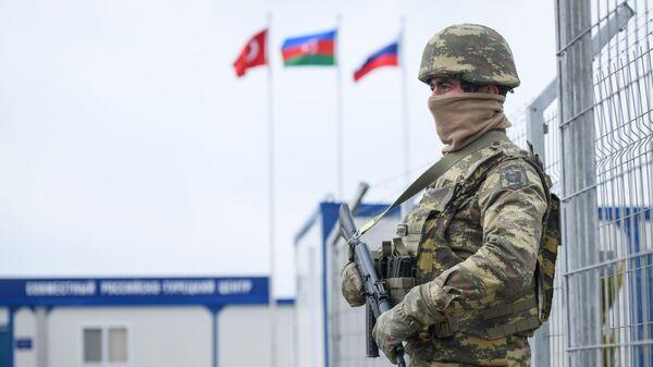 Российско-турецкий центр контроля за соблюдением перемирия в Карабахе, архивное фото - Sputnik Тоҷикистон