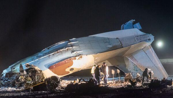 В Казахстане разбился Ан-26 - Sputnik Тоҷикистон