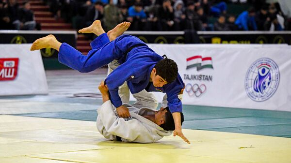 Соревнования по дзюдо в Таджикистане - Sputnik Таджикистан