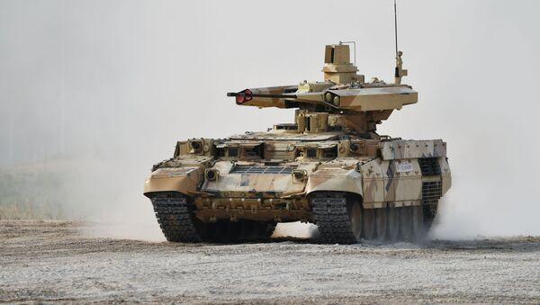 Боевая машина огневой поддержки БМПТ Терминатор-3 - Sputnik Таджикистан