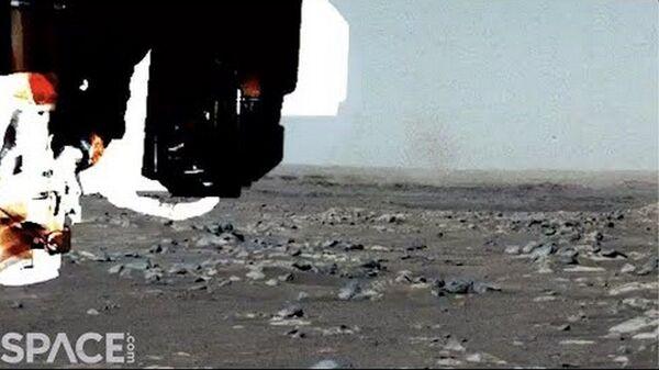 Пылевая буря на Марсе - Sputnik Тоҷикистон