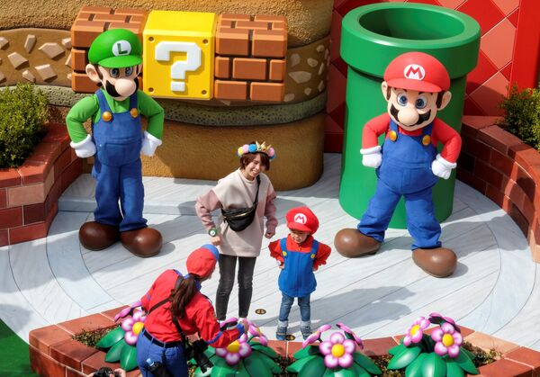 В самом большом парке развлечений Universal Studios, расположенном в японской Осаке, открылась тематическая зона, посвященная игре Супер Марио - Sputnik Таджикистан
