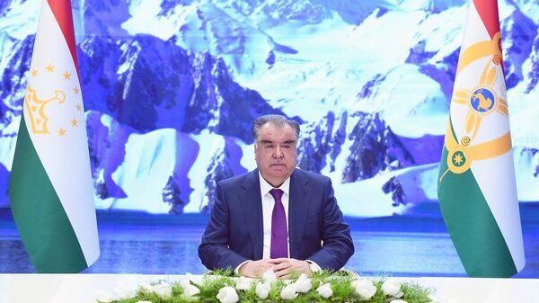 Эмомали Рахмон принял участие в онлайн заседании Генеральной Ассамблеи ООН - Sputnik Тоҷикистон