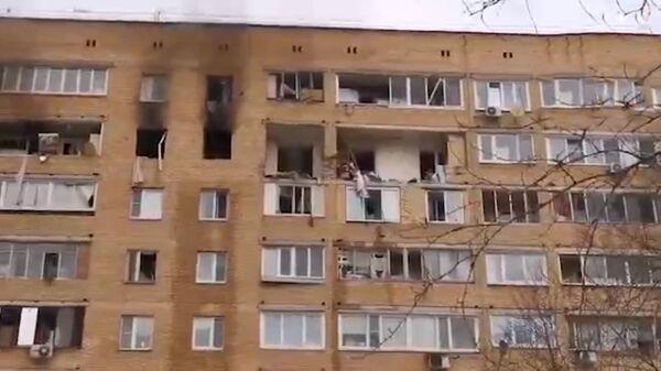 Взрыв в Химках - Sputnik Тоҷикистон