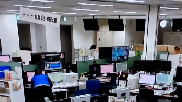 Землетрясение в Токио - Sputnik Тоҷикистон