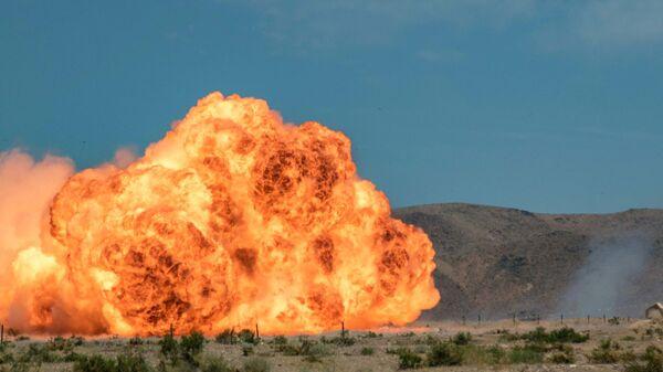 Взрыв, архивное фото - Sputnik Таджикистан