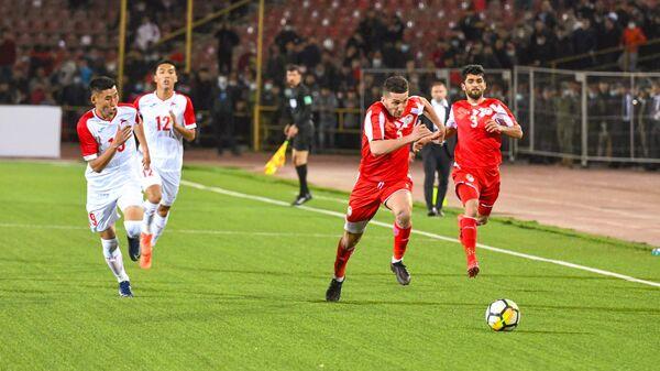 Матч между сборными Таджикистана и Монголии по футболу - Sputnik Таджикистан