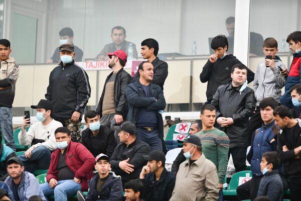 На матч пришли более 9 тысяч болельщиков - Sputnik Таджикистан