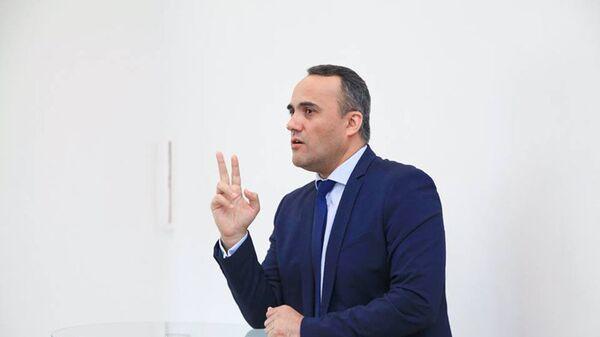 Иззат Амон таджикский активист в России, архивное фото - Sputnik Тоҷикистон