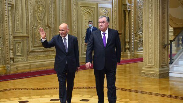 Официальная встреча президента Афганистана Ашрафа Гани в Душанбе  - Sputnik Тоҷикистон