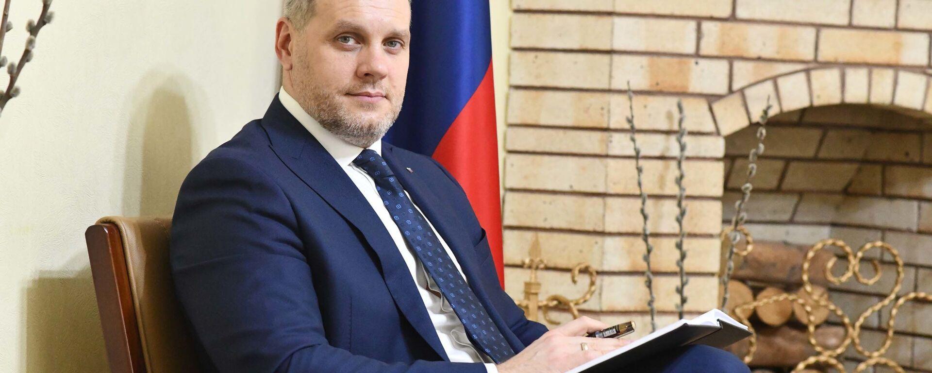 Евгений Кореньков торговый представитель РФ в РТ - Sputnik Таджикистан, 1920, 14.04.2021