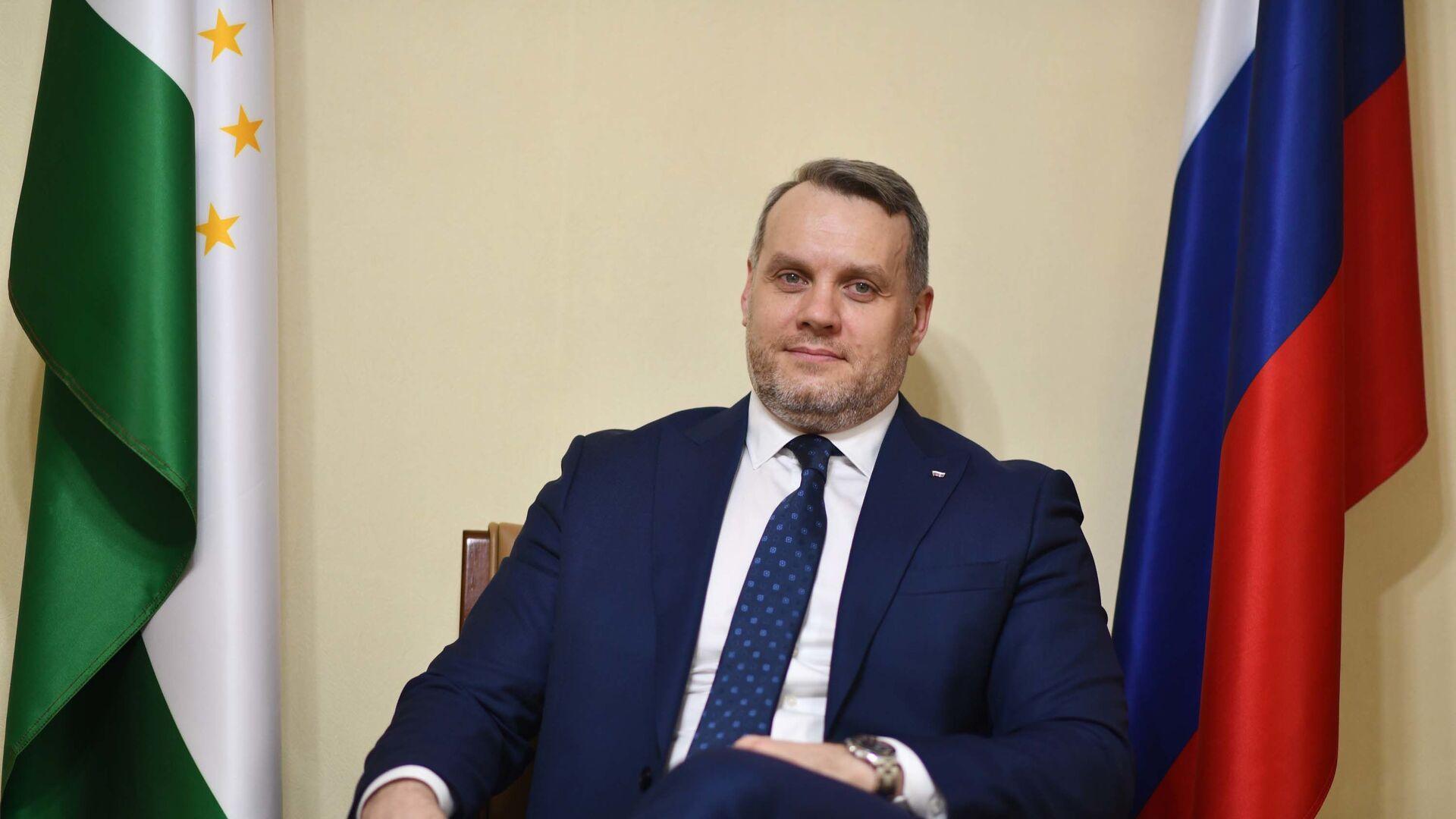Евгений Кореньков торговый представитель РФ в РТ - Sputnik Таджикистан, 1920, 17.04.2021