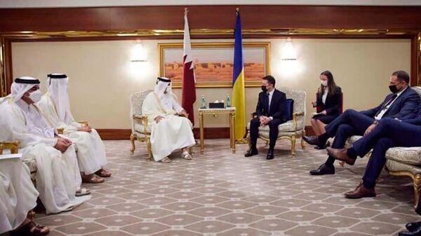 Официальный визит президента Украины в Катар  - Sputnik Таджикистан