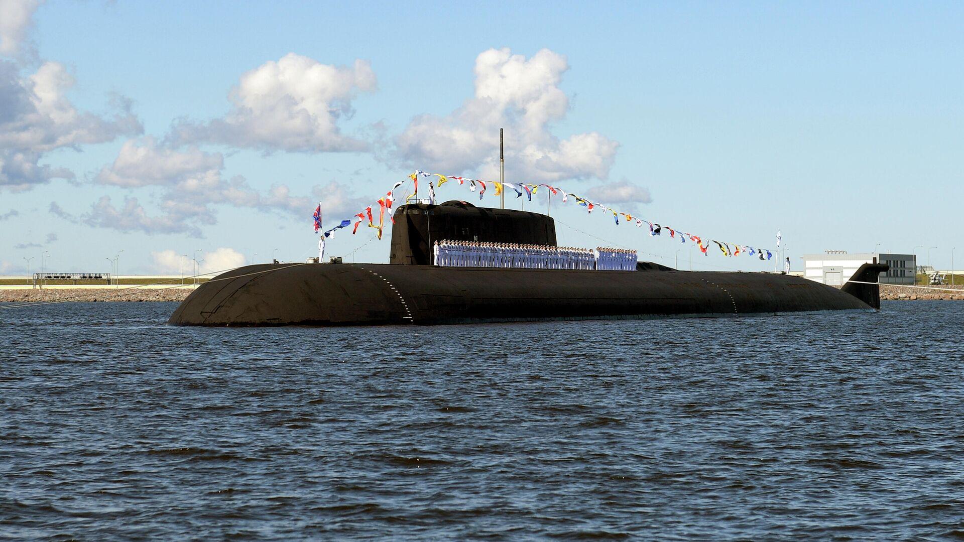 Российская атомная подводная лодка с крылатыми ракетами К-266 Орел - Sputnik Таджикистан, 1920, 07.04.2021