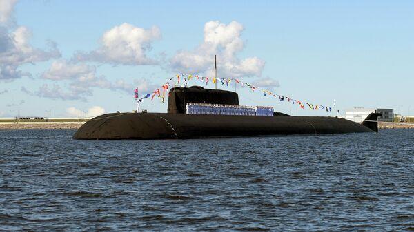 Российская атомная подводная лодка с крылатыми ракетами К-266 Орел - Sputnik Таджикистан