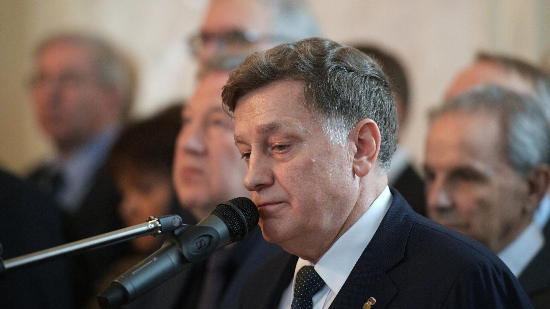 Председатель Законодательного собрания Санкт-Петербурга Вячеслав Макаров - Sputnik Таджикистан, 1920, 07.04.2021