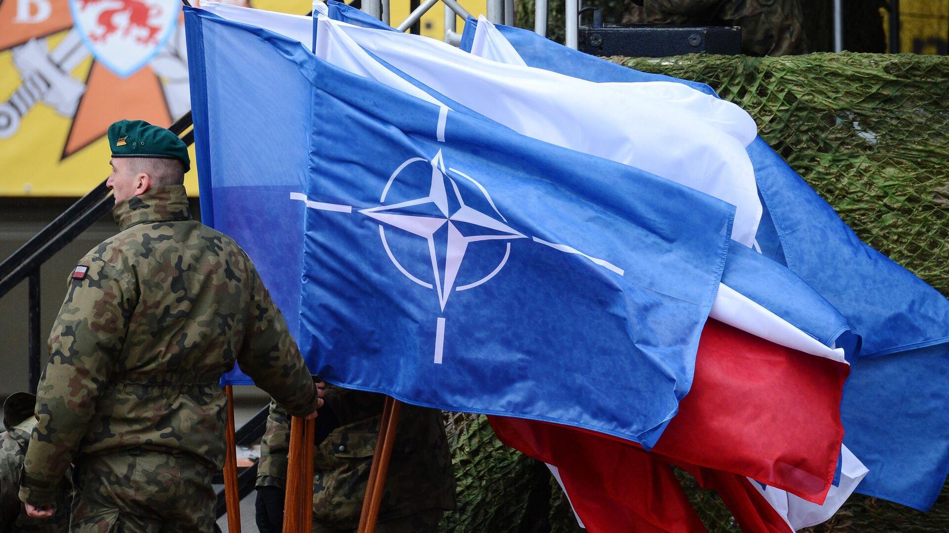 Флаг НАТО - Sputnik Таджикистан, 1920, 23.09.2021