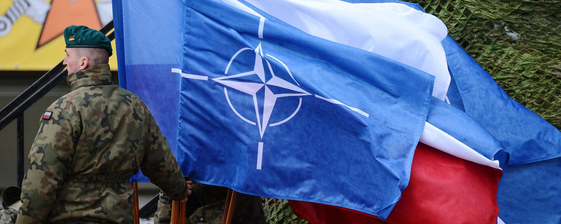 Флаг НАТО - Sputnik Таджикистан, 1920, 16.06.2021