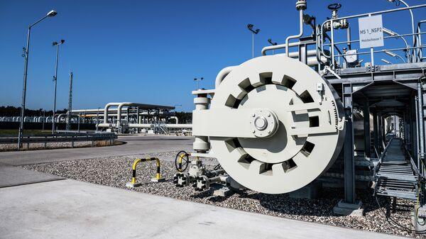 Строительство газопровода Северный поток-2 в Германии - Sputnik Таджикистан