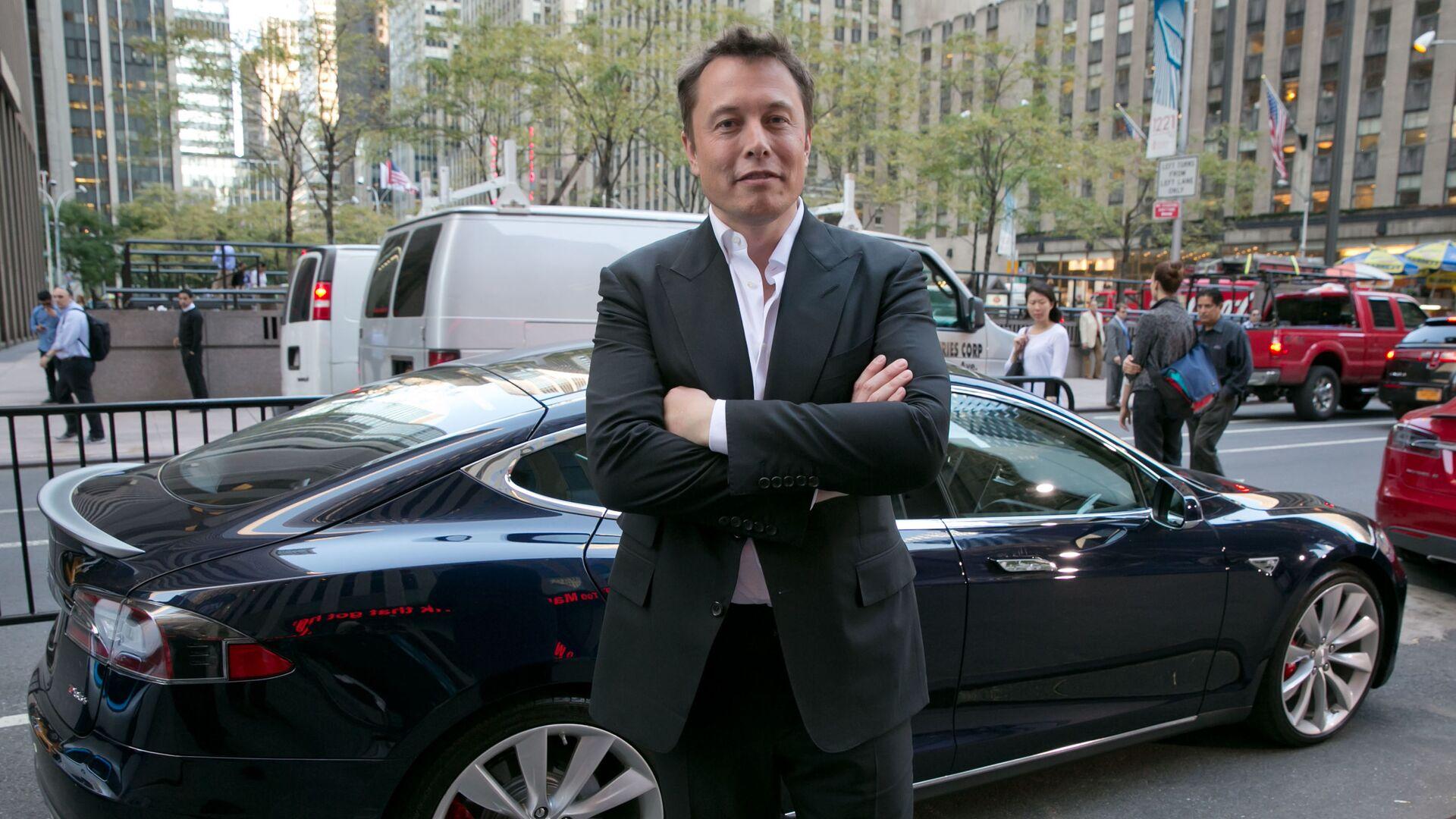 Основатель компаний Tesla и SpaceX Илон Маск - Sputnik Таджикистан, 1920, 21.05.2021