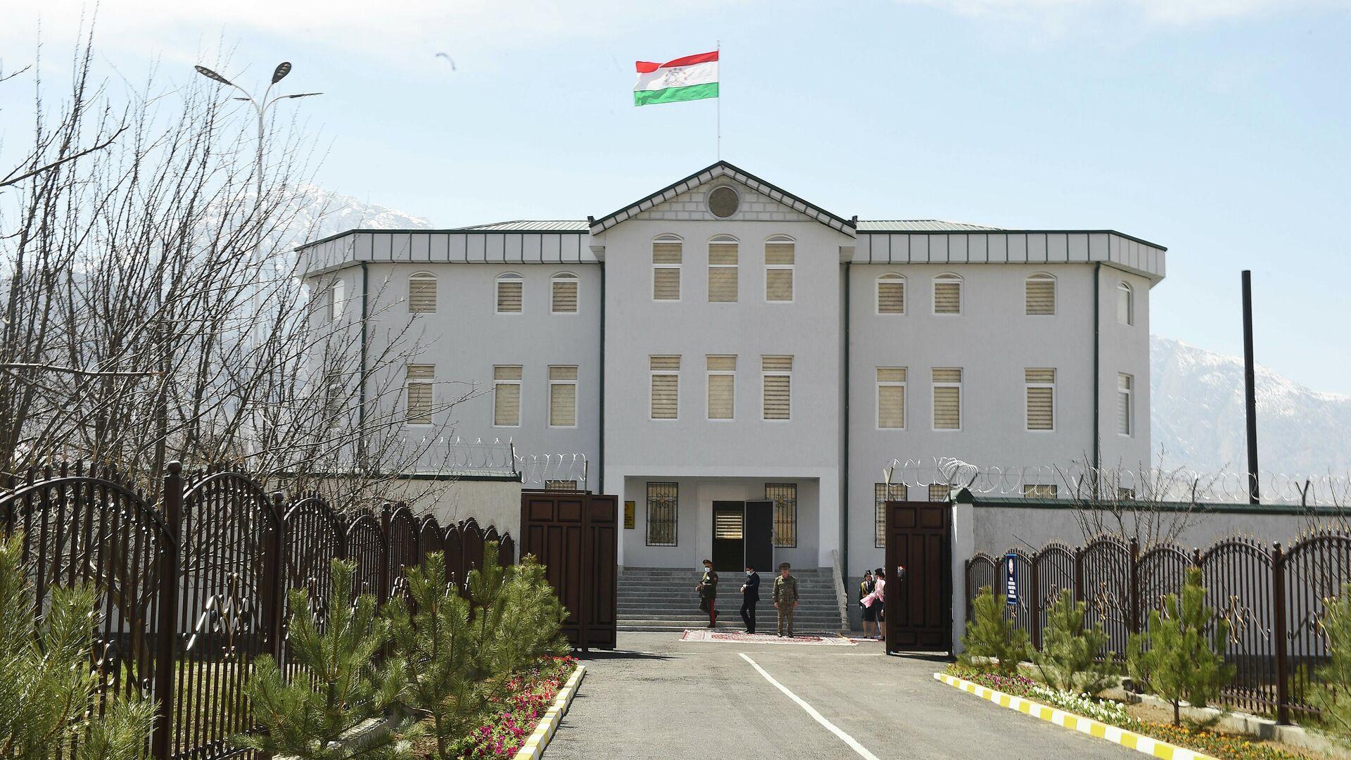 Новое здание ОВД в городе Ворух - Sputnik Тоҷикистон, 1920, 09.04.2021