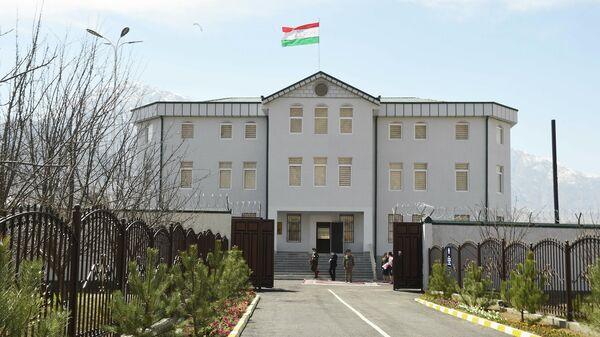 Новое здание ОВД в городе Ворух - Sputnik Тоҷикистон