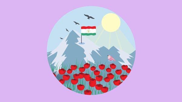 Праздничная программа на Навруз - 2021 в Душанбе - Sputnik Таджикистан