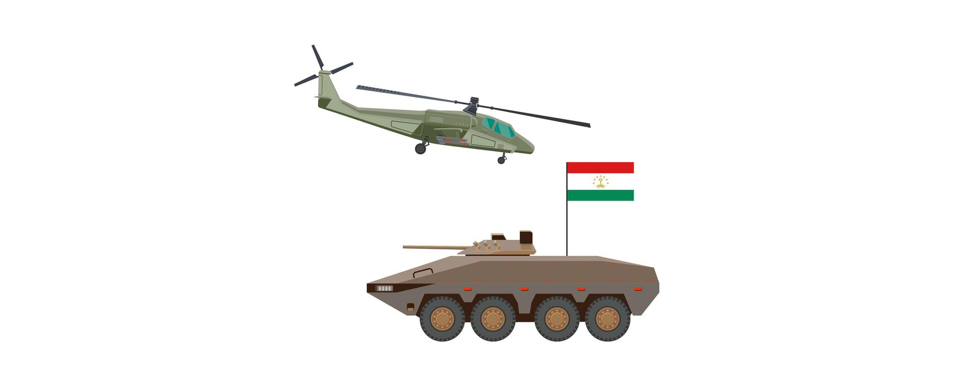 Военная мощь и сила Таджикистана в цифрах - Sputnik Таджикистан, 1920, 10.08.2021
