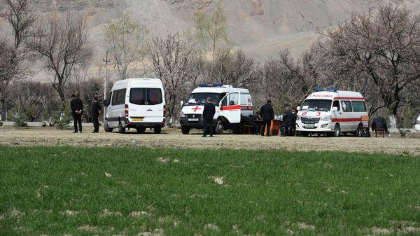 Машина скорой помощи в Таджикистане - Sputnik Таджикистан