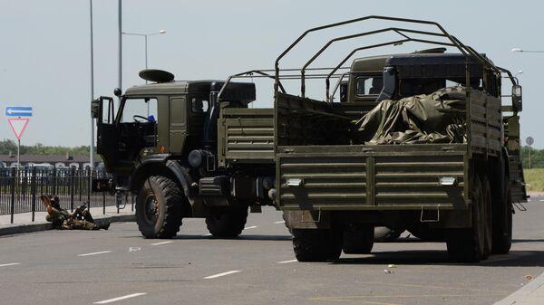 Ситуация в районе международного аэропорта Донецка - Sputnik Таджикистан