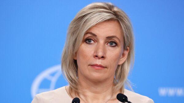 Захарова: посла США вызвали в МИД РФ, разговор будет сложным - видео - Sputnik Таджикистан