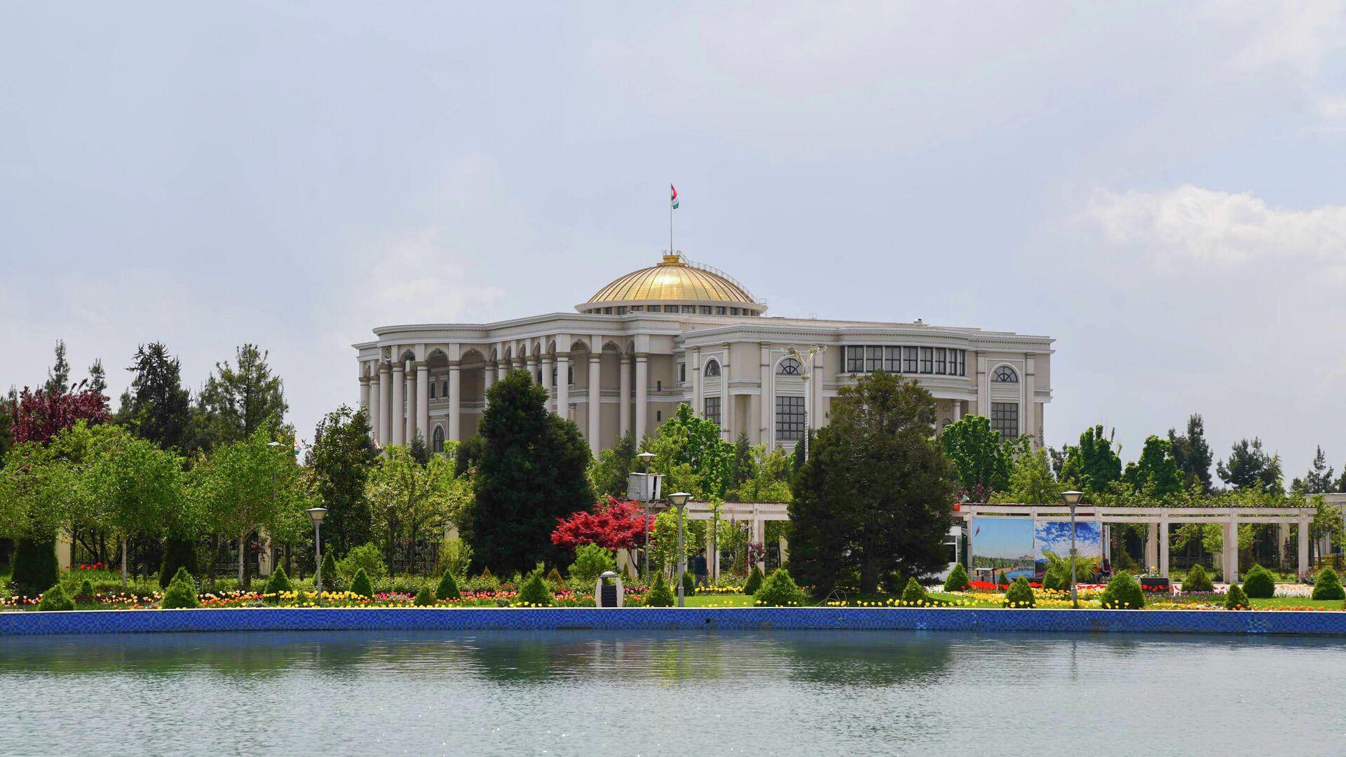 Дворец нации в Душанбе - Sputnik Тоҷикистон, 1920, 24.04.2021