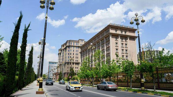 Здание МИД Таджикистана в Душанбе, архивное фото - Sputnik Тоҷикистон