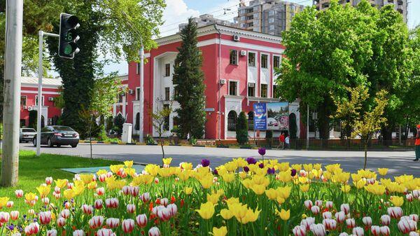Национальный банк республики Таджикистан. Архивное фото - Sputnik Таджикистан