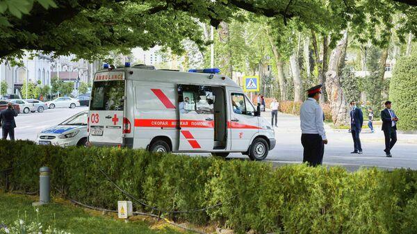 Скорая помощь в Душанбе, архивное фото - Sputnik Тоҷикистон