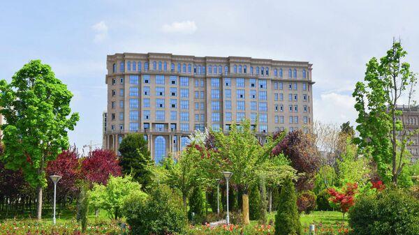 Новое здание Министерства финансов Таджикистана - Sputnik Тоҷикистон