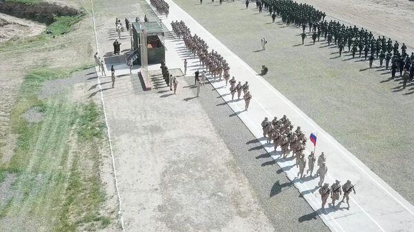 Старт совместных военных учений рф и таджикистана - Sputnik Тоҷикистон