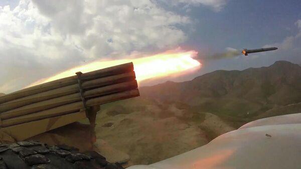 Уничтожение боевиков на совместных учениях в Таджикистане - Sputnik Тоҷикистон